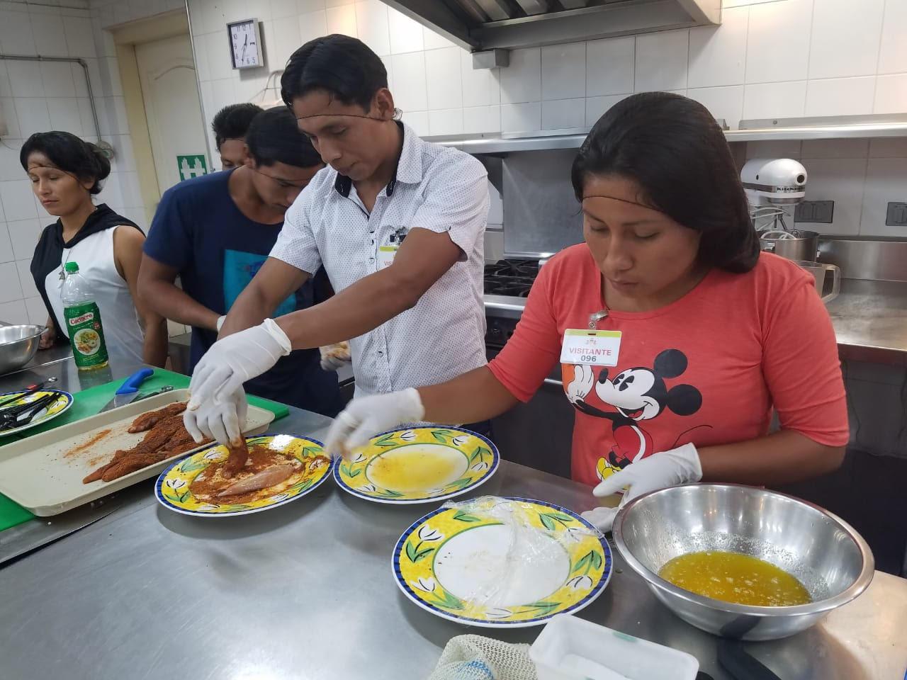 Achuar-gastronomy-training-2