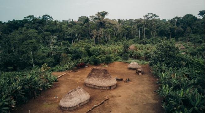 Indigenous community in Ecuador