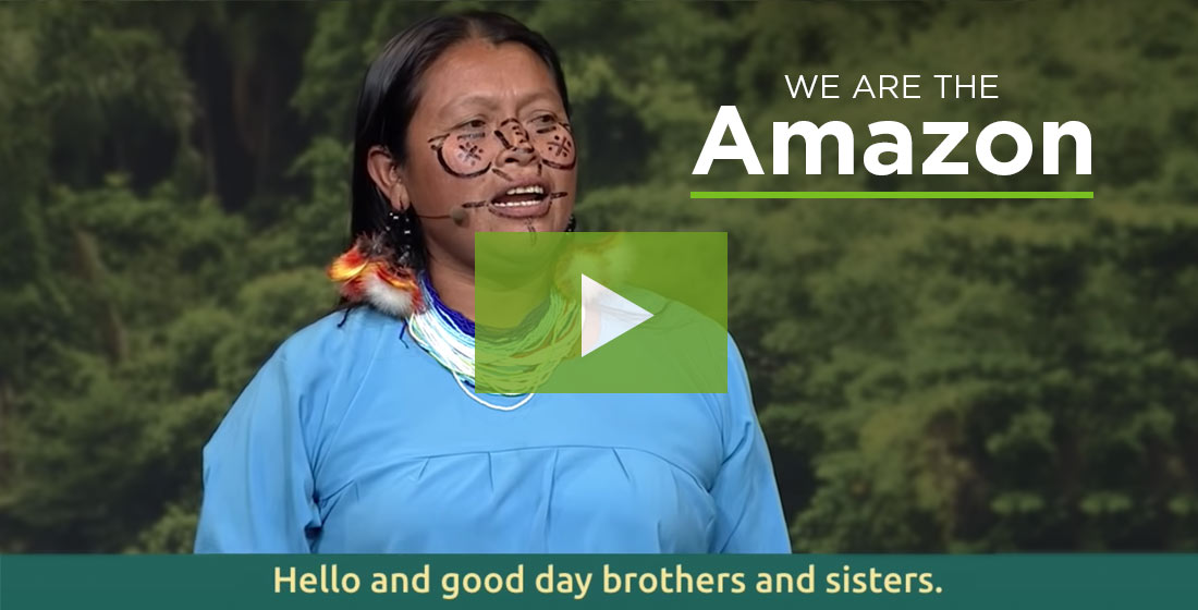 A Message from Isabel Wisum, Vice President of the Achuar Nation of Ecuador