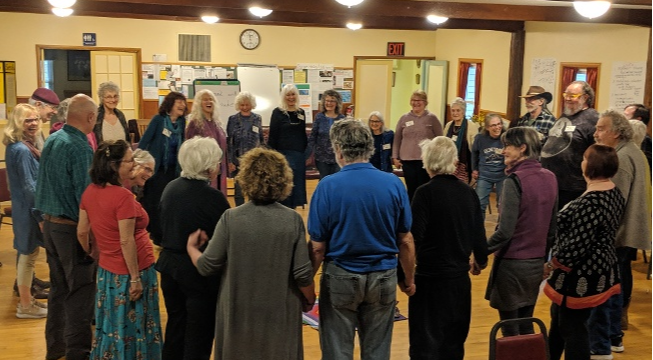 Becoming Heart-centered with the Southern Oregon Pachamama Alliance Community